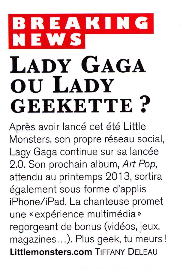 Culture Geek - Lady Gaga